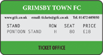 Grimsby Town v TBC (Pontoon Stand)
