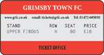 Grimsby Town v TBC (Upper Findus)