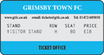 Grimsby Town v TBC (Visitors Stand)